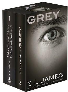 Padesát odstínů šedi + Grey BOX - E.L. James