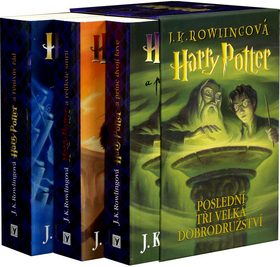 Harry Potter - 5-7 box - Joanne K. Rowlingová
