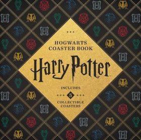 Harry Potter Hogwarts Coaster Book : Gryffindor, Ravenclaw, Hufflepuff, Slytherin - Danielle Selber