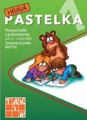Hravá pastelka 1 - Pracovní sešit z grafomotoriky pro 4 - 5 leté děti