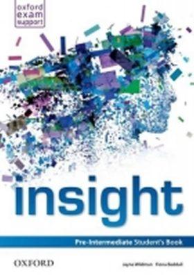Insight Pre-intermediate Student´s Book - Jayne Wildman