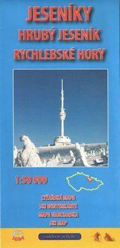 Jeseníky 1:50 000 Zimní lyžařská mapa 2015