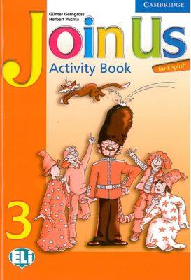 Join Us for English 3 Activity Book - Herbert Puchta, Günter Gerngross