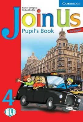 Join Us for English 4 Pupils Book - Herbert Puchta, Günter Gerngross