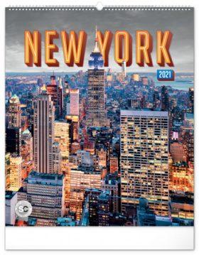 N�st?nn� kalend�? New York 2021, 48 � 56 cm