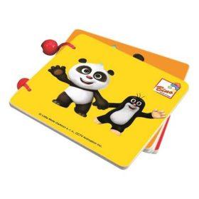 Krtek a Panda: Dřevěná knížka barvy