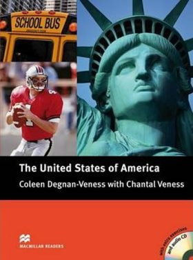 Macmillan Readers Pre-Intermediate: The United States Book with CD - Coleen Degnan-Veness with Chantal Veness