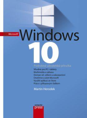 Microsoft Windows 10 - Martin Herodek - e-kniha