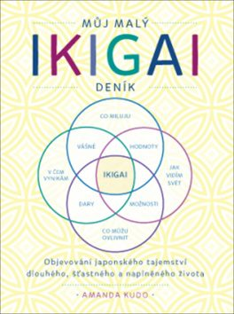 ANAG Můj malý IKIGAI deník – Objevování japonského tajemství dlouhého, šťastného a naplněného života - Amanda Kudo