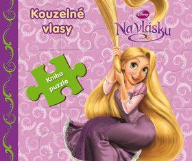 Na vlásku - Kouzelné vlasy - Kniha puzzle - Walt Disney