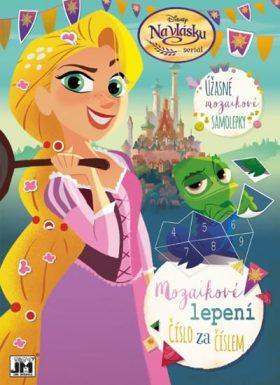 Na vlásku - Mozaikové lepení - Walt Disney