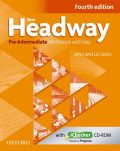 New Headway Pre-Intermediate Workbook Fourth Edition with Key + iChecker CD-rom - John and Liz Soars