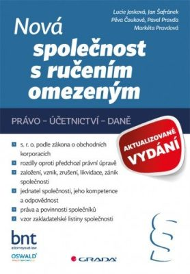 Nová společnost s ručením omezeným - aktualizované vydání - Lucie Josková - e-kniha