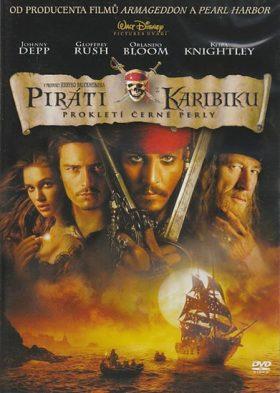 Piráti z Karibiku: Prokletí Černé perly DVD - DVD