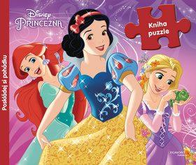 Princezna - Kniha puzzle - Poskládej si pohádku - Walt Disney