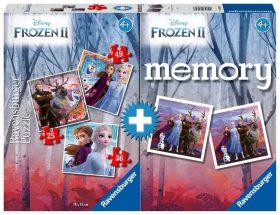 Puzzle Ledové království 2/3v1+pexeso