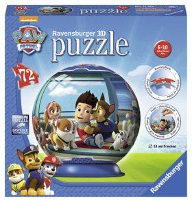 Puzzleball Tlapková Patrola 72 dílků