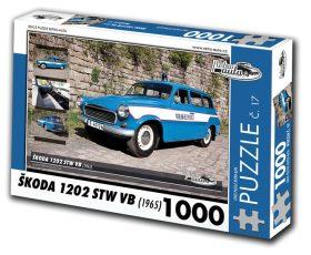 Puzzle ŠKODA 1202 STW VB (1965) - 1000 dílků