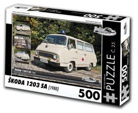 Puzzle ŠKODA 1203 SA (1980) - 500 dílků