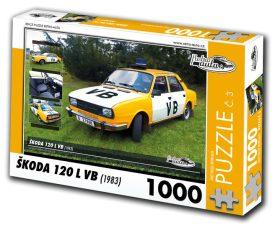 Puzzle ŠKODA 120 L VB (1983) - 1000 dílků