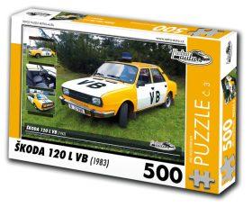Puzzle ŠKODA 120 L VB (1983) - 500 dílků