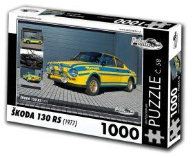 Puzzle ŠKODA 130 RS (1977) - 1000 dílků