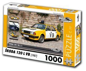 Puzzle ŠKODA 120 L VB (1987) - 1000 dílků