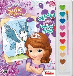 Sofie První - Omalovánky s barvami A4