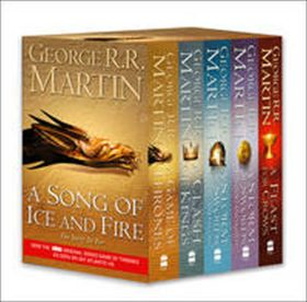 Song of Ice and Fire 1.-5. - George R.R. Martin