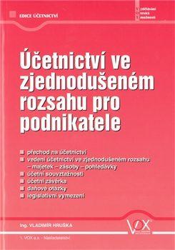 Účetnictví ve zjednodušeném rozsahu pro podnikatele - Vladimír Hruška