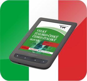 Velký italsko-český/ česko-italský slovník (pro PocketBook) - kolektiv autorů TZ-one - e-kniha