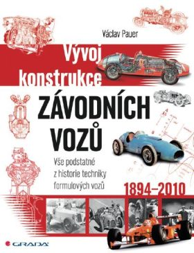 Vývoj konstrukce závodních vozů - Václav Pauer - e-kniha
