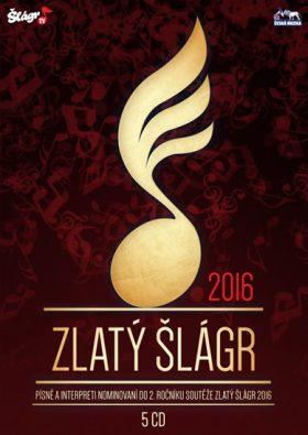 Zlatý šlágr 2016 - audiokniha